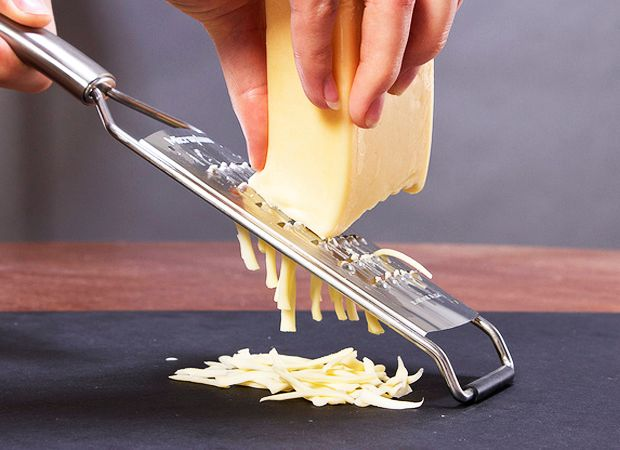 The No-Stick Method To Grate Cheese With Ease
