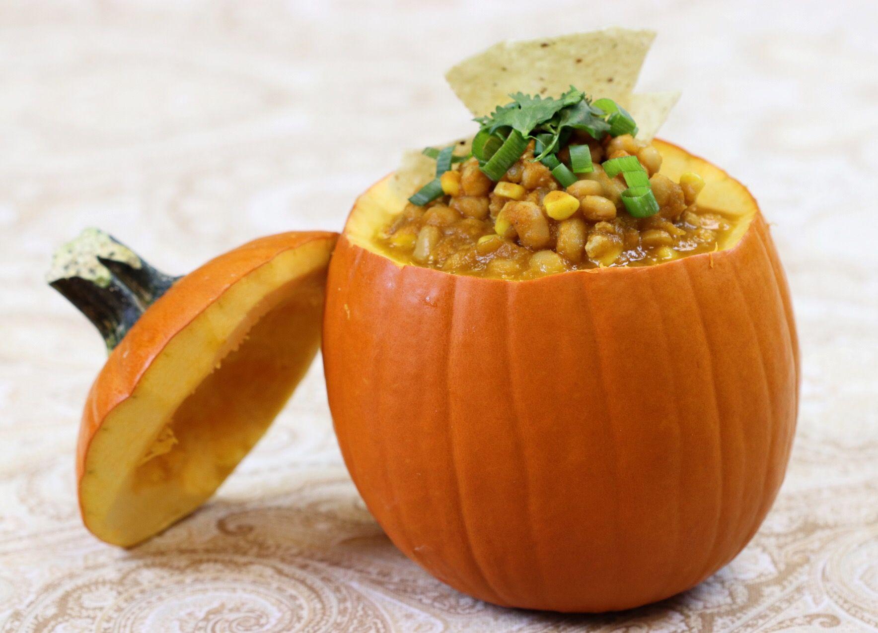 Make Ahead Turkey, Pumpkin and White Bean Chili - Forkly