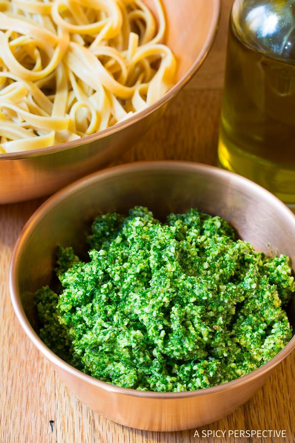 The Easiest Kale Pesto Recipe Ever - Forkly