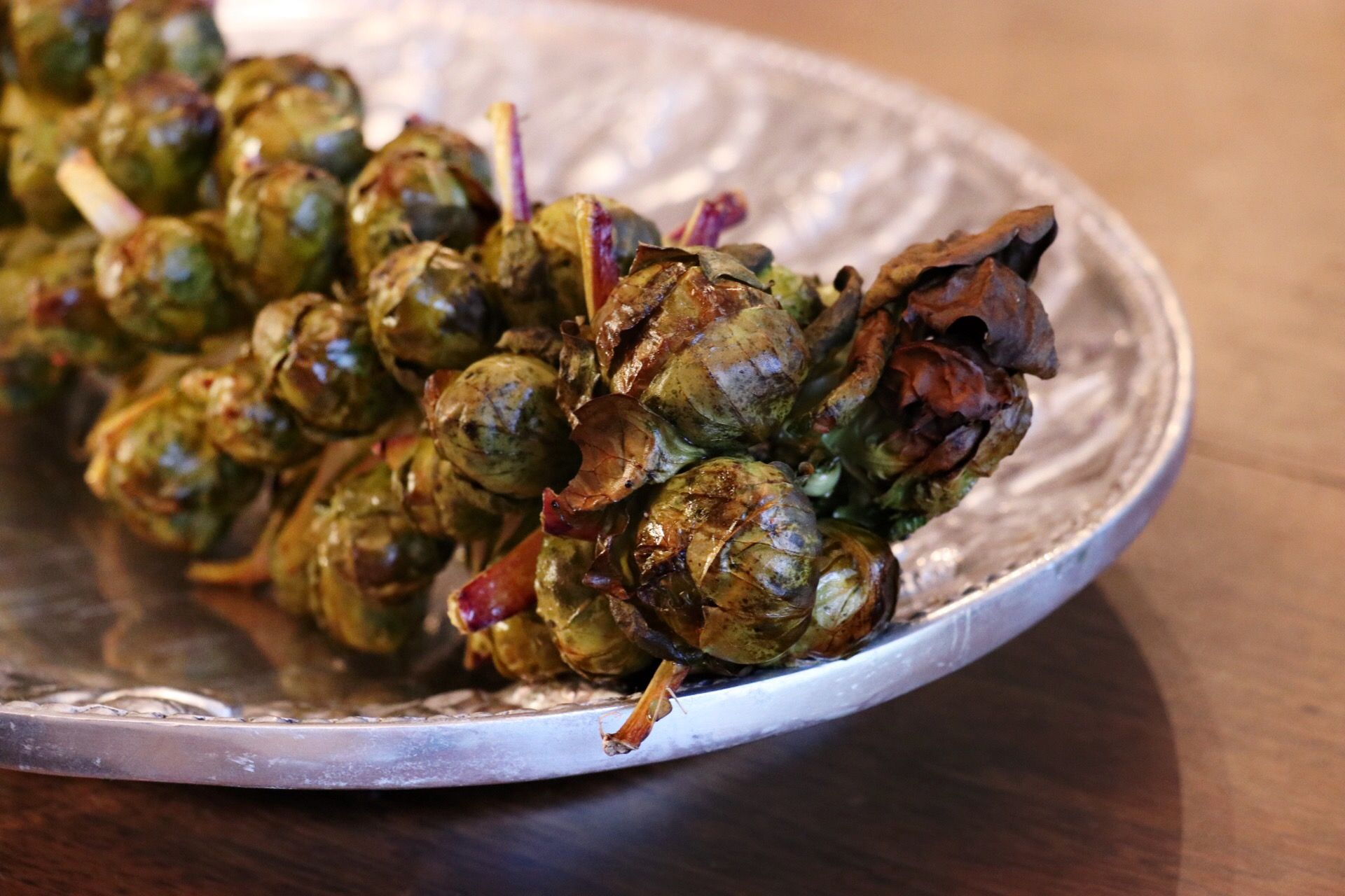 Roasted Brussels Sprouts: On The Stalk! - Forkly