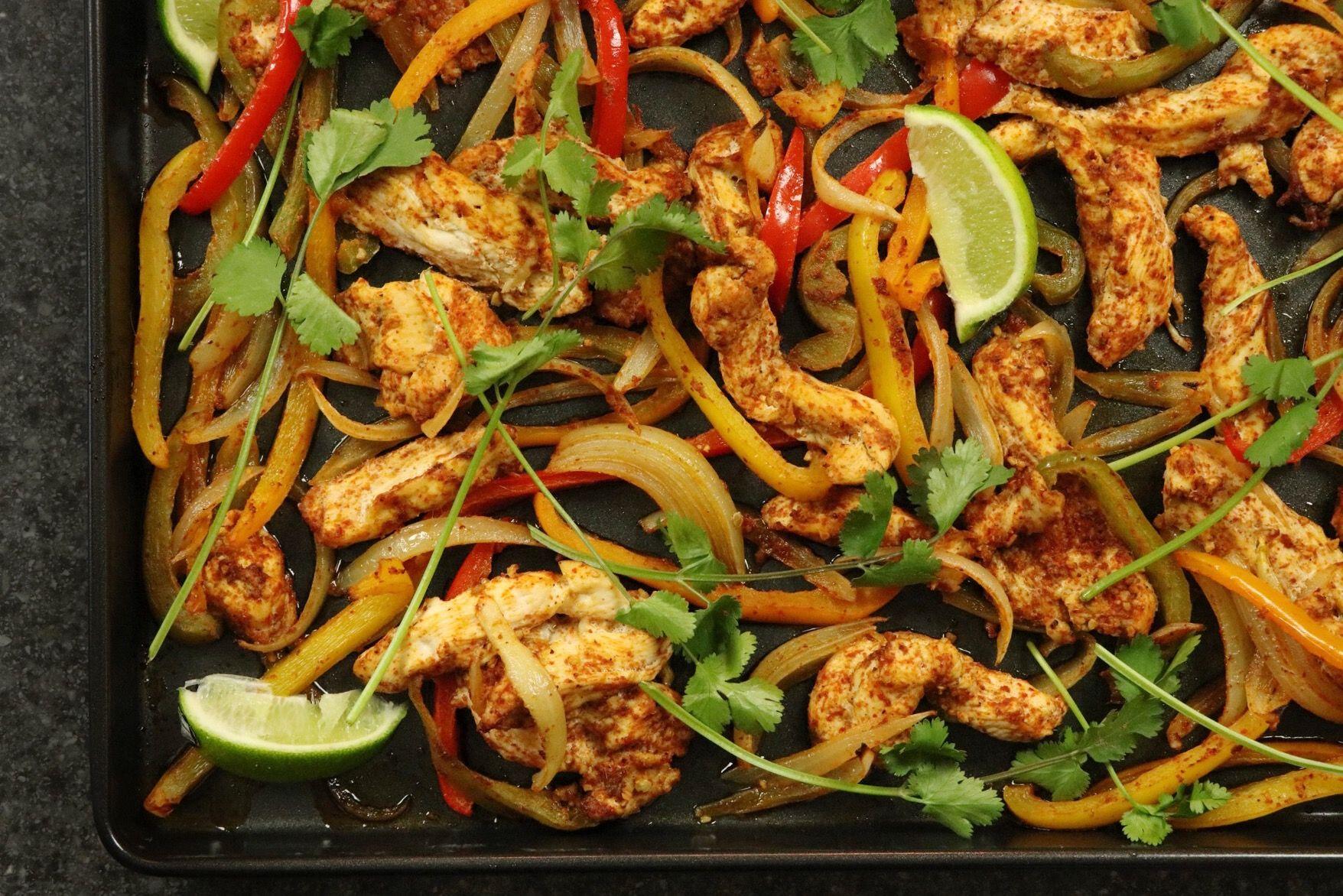 One-Pan Chicken Fajitas - cover