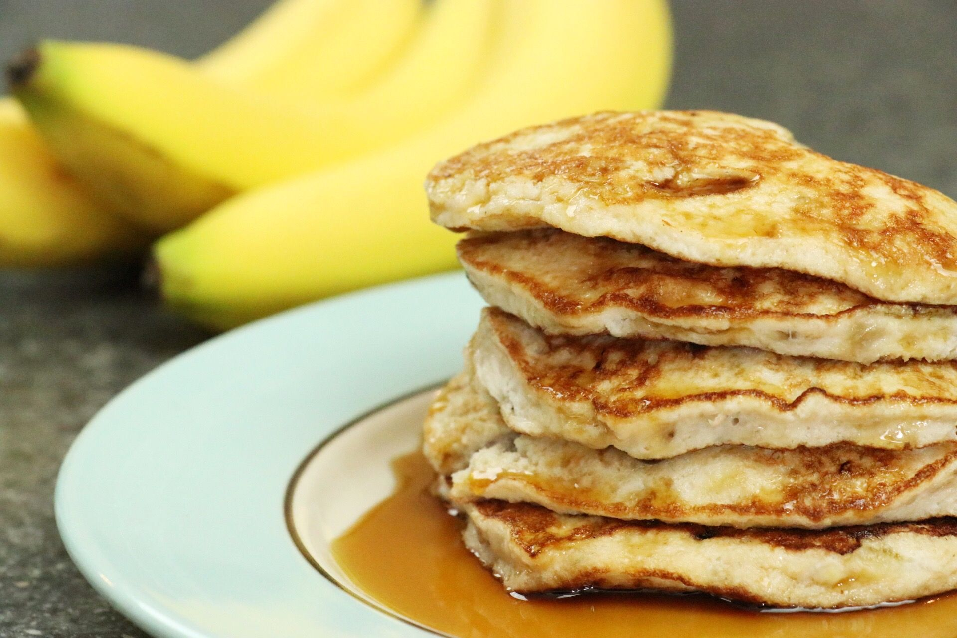 2-Ingredient Healthy Pancakes - Forkly