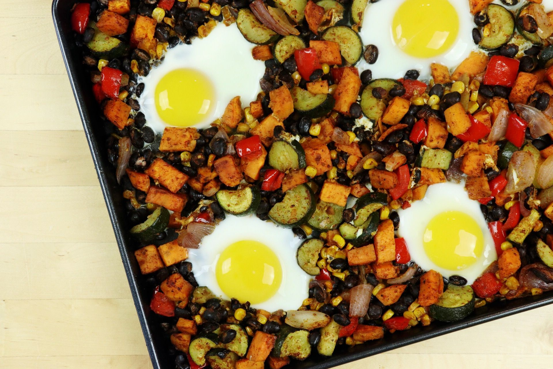 One-Pan Brunch Hash - Forkly