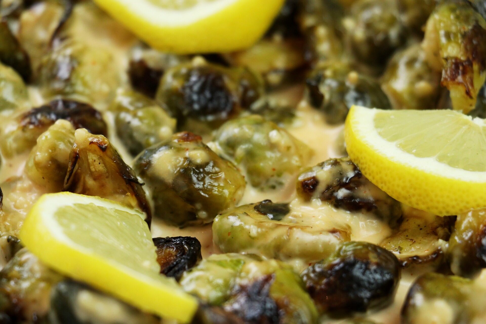 Bang Bang Roasted Brussels Sprouts - Forkly