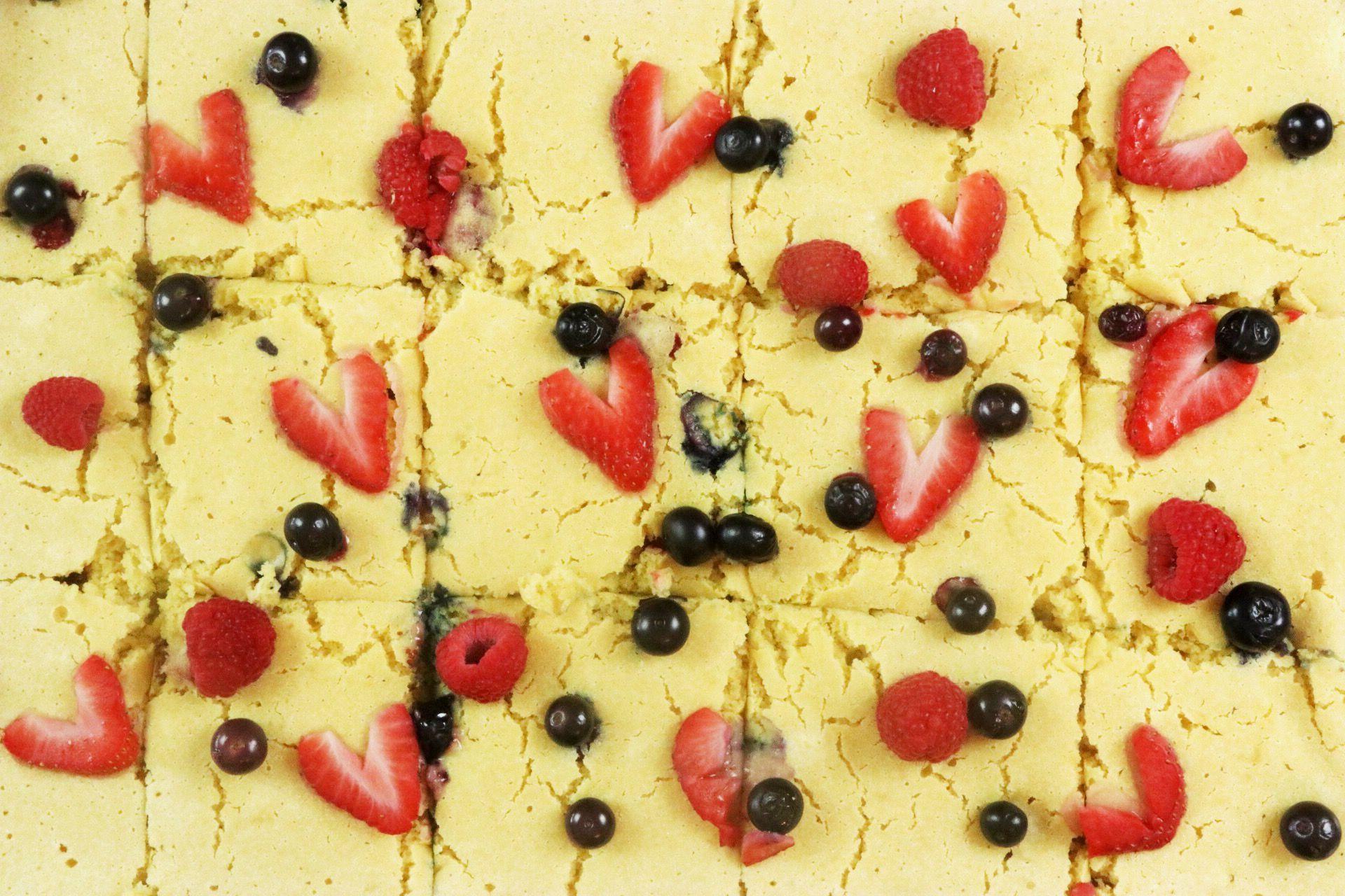Easy Sheet Pan Berry Pancakes Recipe