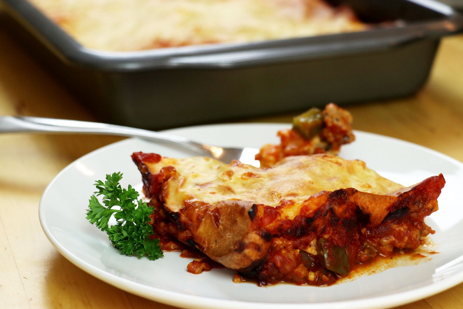 Easy Upside-Down Pizza Casserole - Forkly