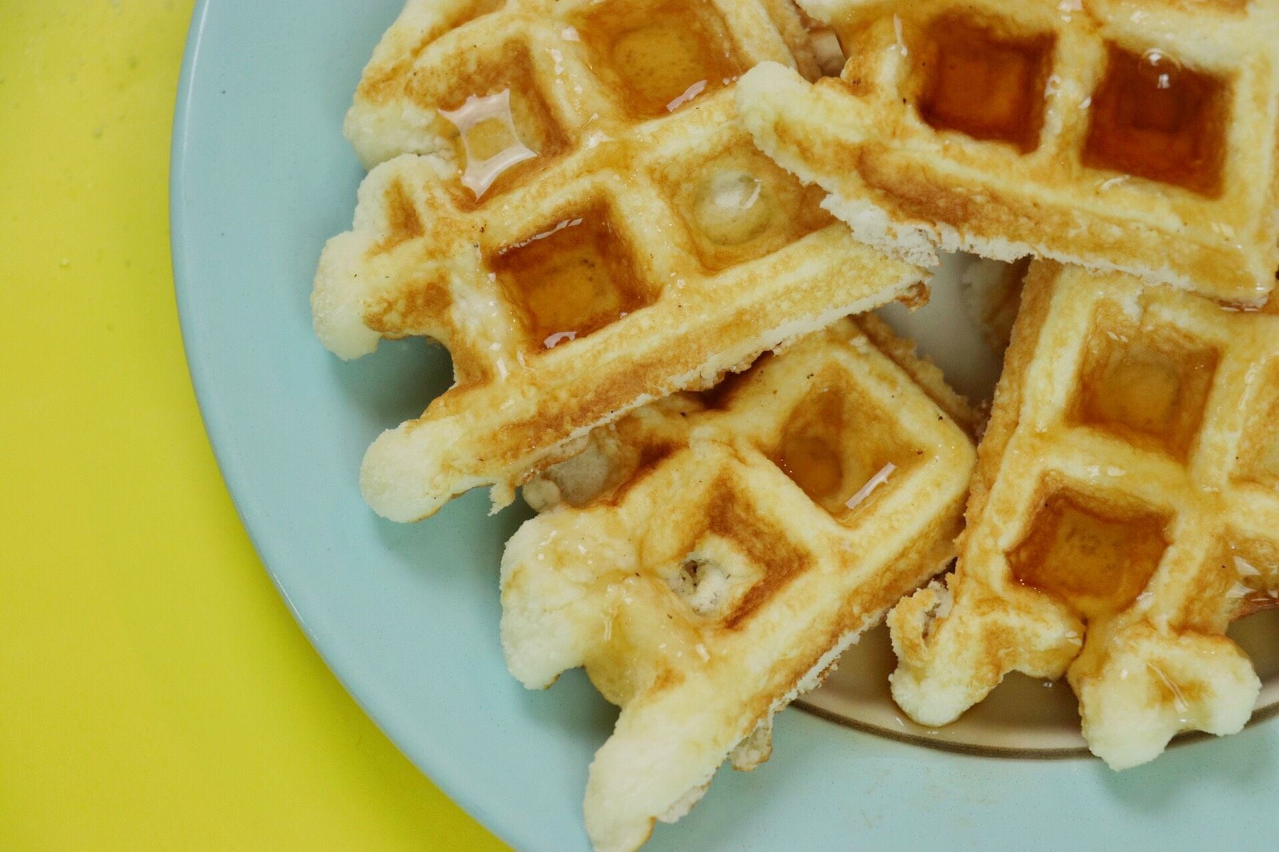 Fast & Easy Keto Waffles - Forkly