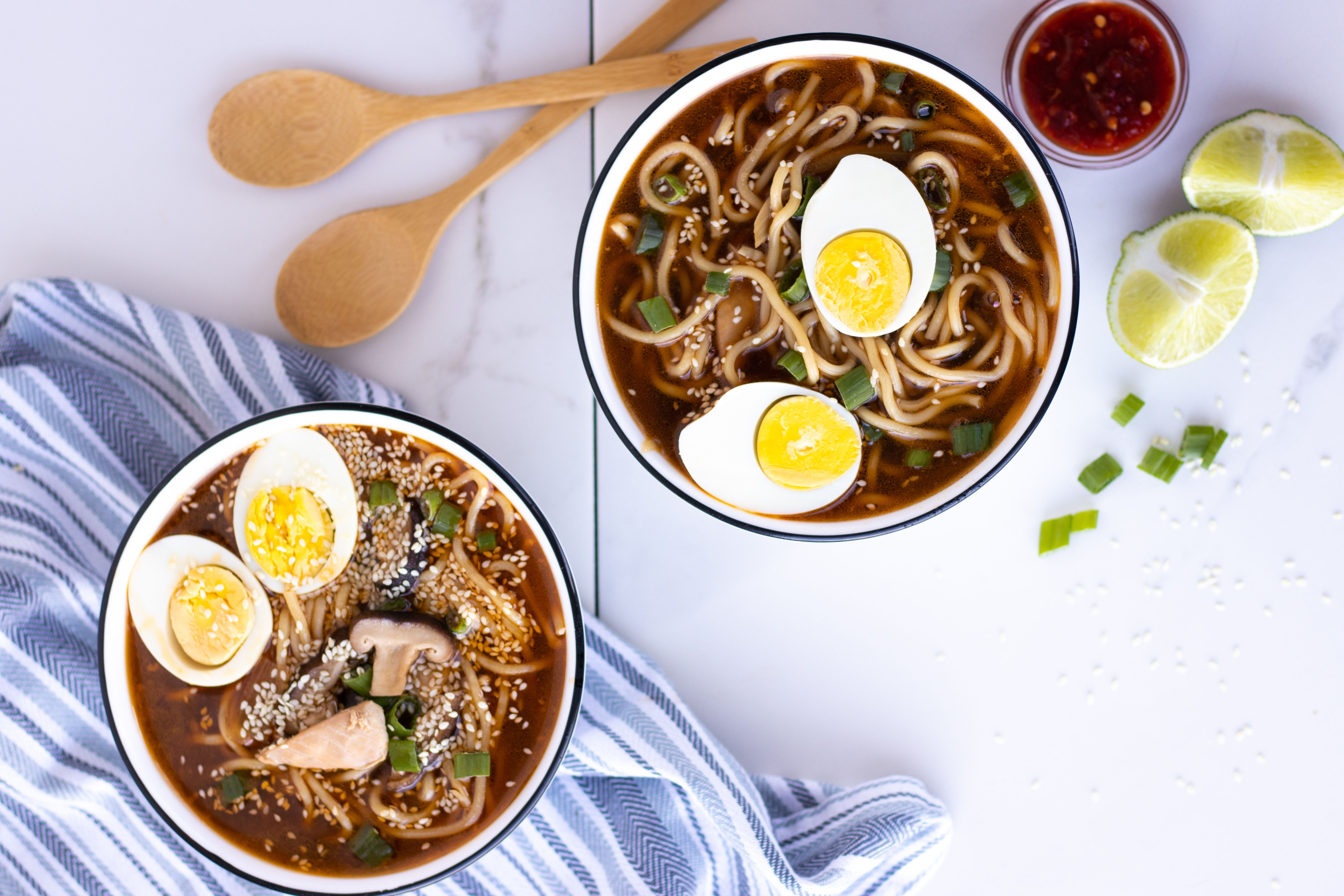 Quick & Easy Instant Pot Chicken Ramen - Forkly