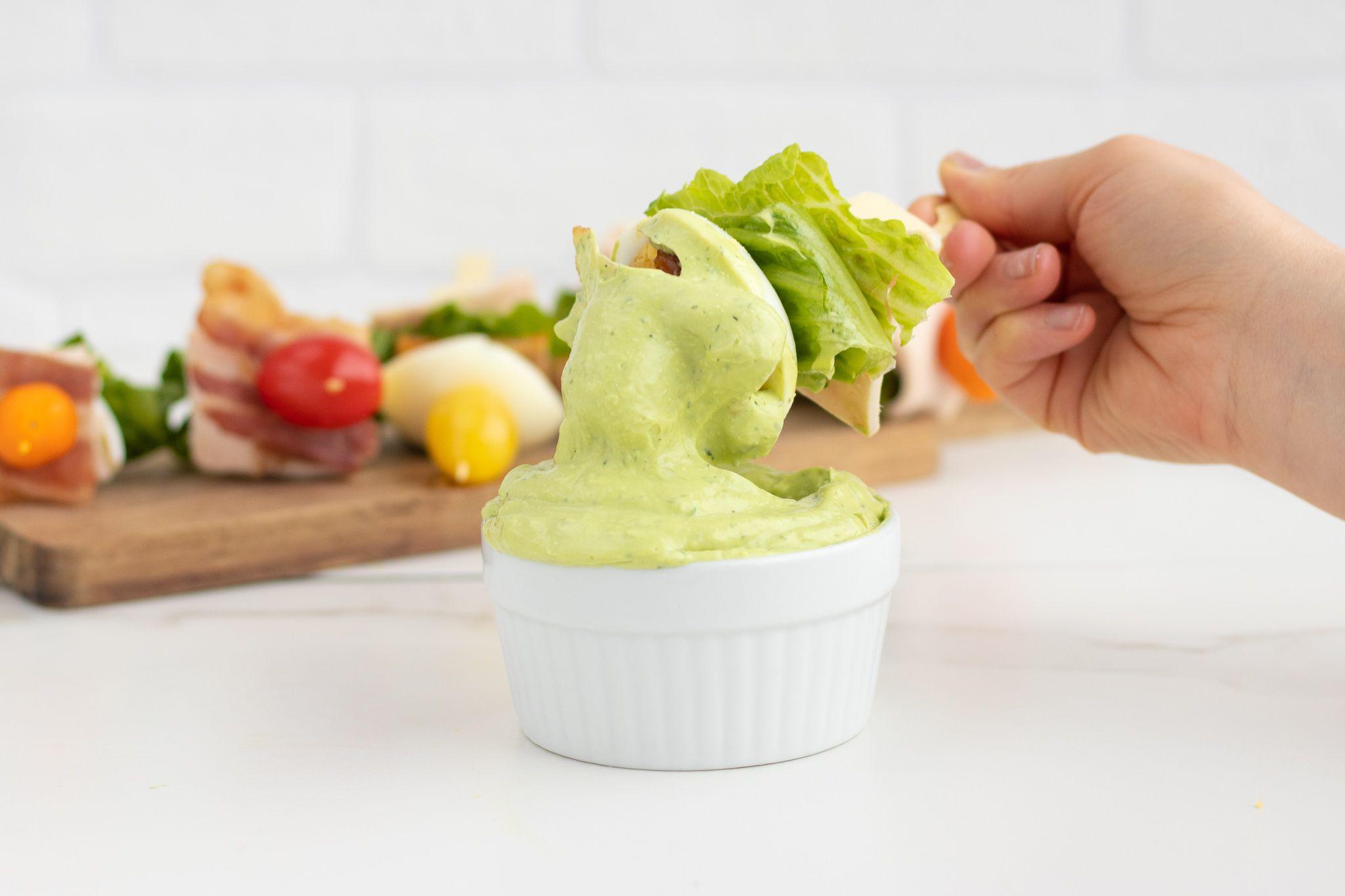 Homemade Keto Avocado Ranch Dressing & Dip - Forkly