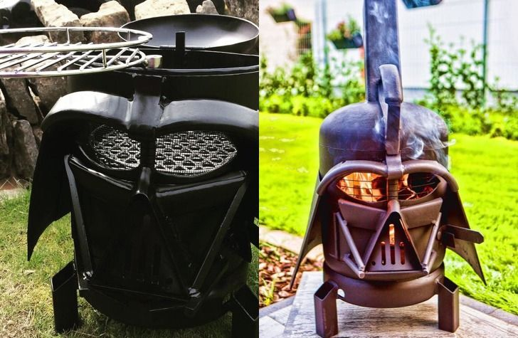 Every Star Wars Fan Needs This Darth Vader BBQ - Forkly